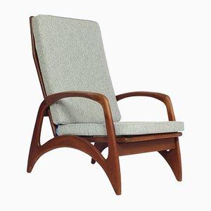 Modernist Teak Lounge Chair from De Ster Gelderland, 1950s