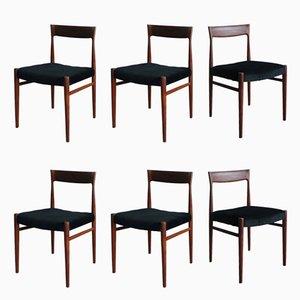 Chaises de Salle à Manger par Niels Otto Møller pour Casala, 1960s, Set de 6