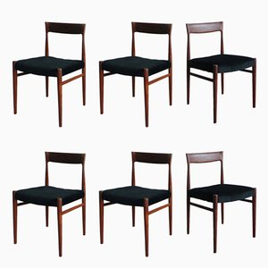 Dining Chairs by Niels Otto Møller for Casala, 1960s, Set of 6