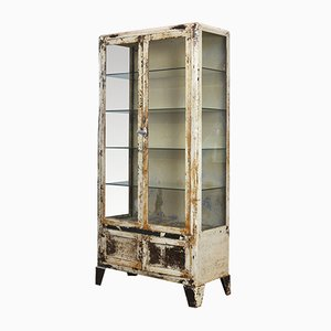 Industrial French Medical Cabinet, 1930s