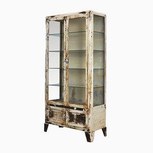 Mueble médico francés industrial, años 30