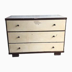 Mid-Century Art Deco Wooden Dresser, 1940s