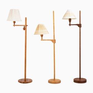 Staken Stehlampen von Carl Malmsten, 1941, 3er Set