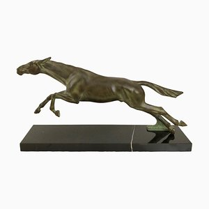 Fougue Horse Sculpture from Max Le Verrier
