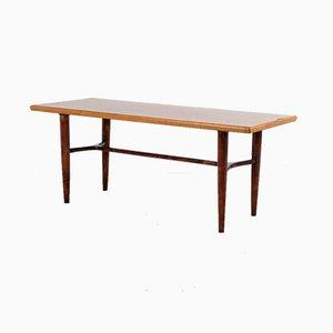 Mid-Century Swedish Birch and Teak Coffee Table