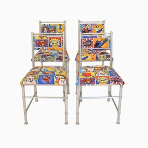 Italian Dining Chairs by Warren McArthur for ClassiCon, 1970s, Set of 4