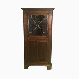 Vintage Mahogany Corner Cabinet, 1930s