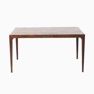 Danish Rosewood Extendable Dining Table by Severin Hansen for Haslev Møbelsnedkeri, 1960s
