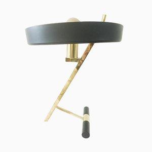 Lampe de Bureau Diplomat en Aluminium par Louis C. Kalff pour Philips, 1960s