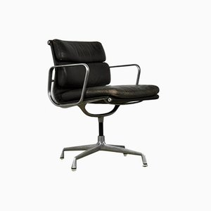 Aluminum and Leather Lounge Chair by Charles & Ray Eames for Herman Miller, 1970s
