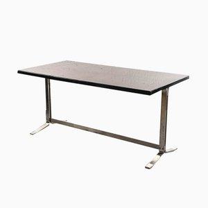 Italienischer Schreibtisch aus Stahl & Palisander von Gianni Moscatelli für Formanova, 1960er