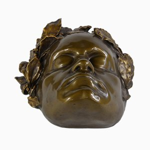 Antique Beethovens Death Mask by Fritz Kochendoerfer