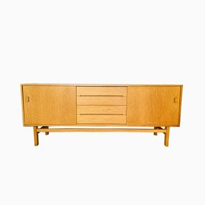 Scandinavian Modern Arild Oak Sideboard by Nils Jonsson for Hugo Troeds, 1960s