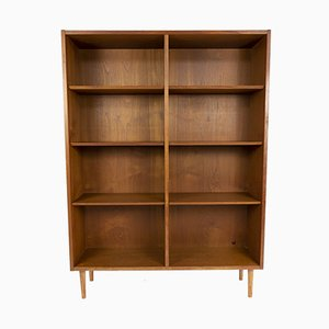 Libreria in teak di Poul Hundevad per Hundevad & Co., anni '60