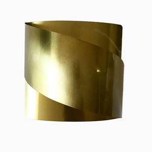 Brass Model Band Sconce by Peter Celsing for Falkenbergs Belysning, 1960s