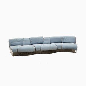 Pantonova Modular Sofa System by Verner Panton for Fritz Hansen, 1970s, Set of 8