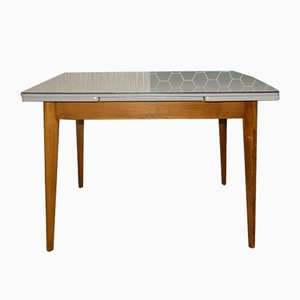 Mid-Century Extendable Kitchen Table, 1950s