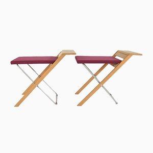 Kirchenstühle von Ole Vedel, 1970er, 2er Set