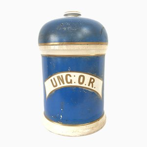 Antique Ceramic Apothecary Jar