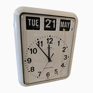 Vintage Calendar Wall Clock from Graysons Bank