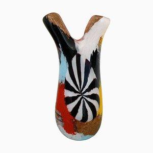 Oriente Firenzio Vase von Dino Martens für Aureliano Toso, 1950er