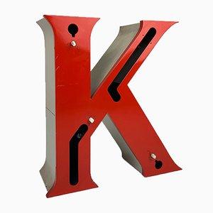 Mid-Century Letter K