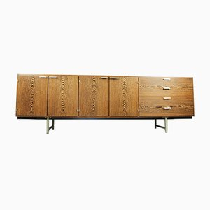 Steel & Wenge DR83 Sideboard by Cees Braakman for Pastoe, 1960s