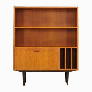 Danish Teak Veneer Bookcase from Clausen & Søn, 1970s