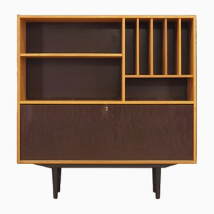Danish Ash Veneer Bookcase from Domino Møbel, 1970s