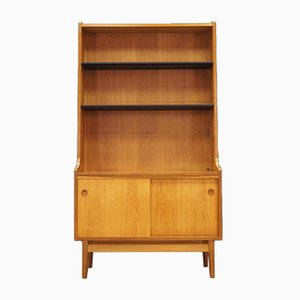 Danish Ash Veneer Bookshelf by Johannes Sorth, 1970s