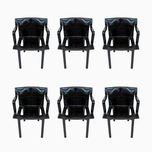 Model 4870 Dining Chairs by Anna Castelli Ferrieri for Kartell, 1980s, Set of 6