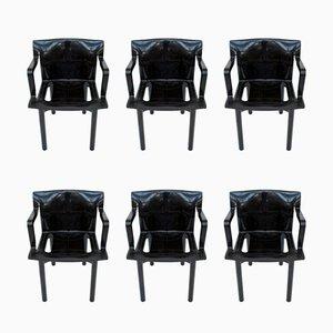 Modell 4870 Esszimmerstühle von Anna Castelli Ferrieri für Kartell, 1980er, 6er Set