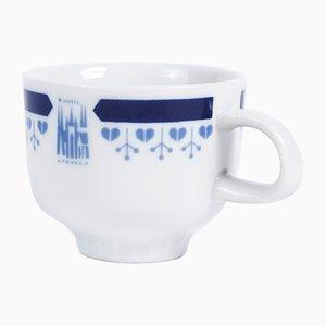 Tazza vintage di Hotelový porcelán G. Benedikt, anni '80