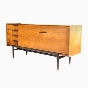Wooden Sideboard, 1970s