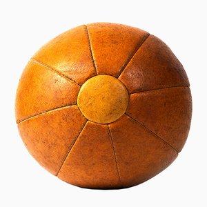 Medizinball aus Leder, 1970er