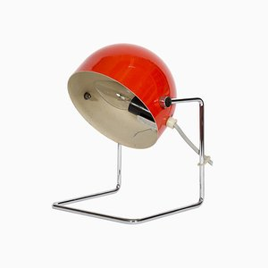Mid-Century Metal Table Lamp by Josef Hůrka for Napako, 1960s