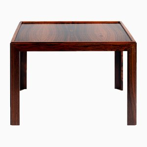 Square Rosewood Veneer Coffee Table, 1960s