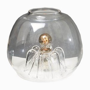 Schwedische Tischlampen aus Glas von Olle Alberius, 1960er, 2er Set