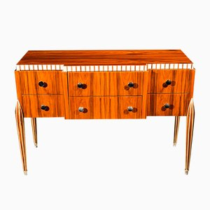 Vintage Walnut Chest of Drawers by Jacques-Émile Ruhlmann