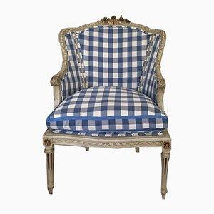 Schwedischer Bergère Beistellstuhl, 1850er