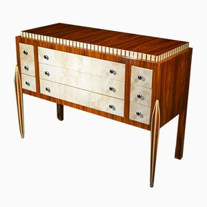 Vintage Commode with 9 Drawers by Jacques-Émile Ruhlmann