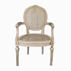 Antiker schwedischer Armlehnstuhl