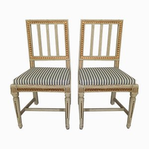 Antique Swedish Side Chair, Set of 2