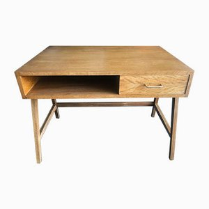 Mid-Century French Oak Desk, 1960s