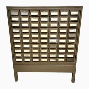 Vintage American Industrial Metal File Cabinet