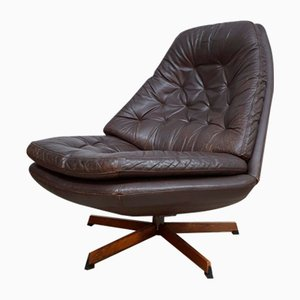 Vintage Danish Swivel Chairs from Madsen & Schübel for Bovenkamp, Set of 2