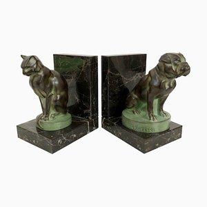 Buchstützen in Hund- und Katzen-Optik von Max Le Verrier