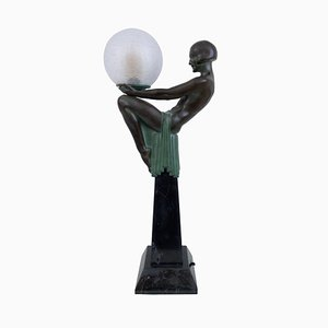 Enigme beleuchtete Skulptur von Max Le Verrier