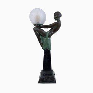 Escultura Enigme iluminada de Max Le Verrier