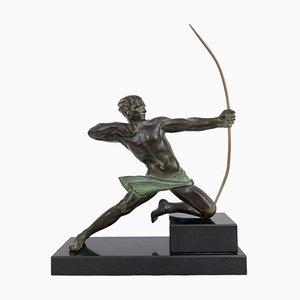 Skulptur in spartanischer Schützen-Optik von Max Le Verrier